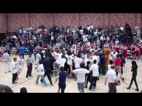Justin Childress at the buzzer! (Loyola High School in Los Angeles)