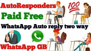 WhatsApp special features - Auto reply  for WhatsApp in Urdu/hindi