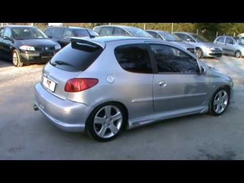 2003 Peugeot 206 tuned body kit Review.Start Up. Engine. and In Depth Tour