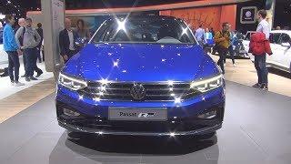 Volkswagen Passat Elegance R-Line 2.0 TSI 272 hp 7-DSG (2019) Exterior and Interior