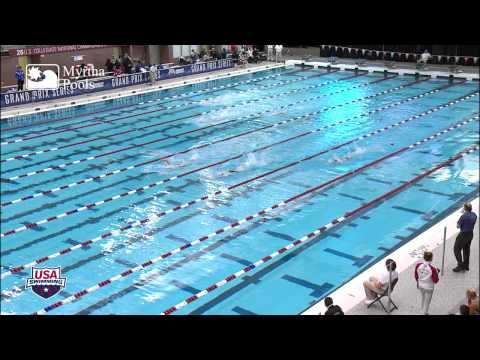 Women's 400m Freestyle Relay Heat 1   2012 Columbus Gran Prix