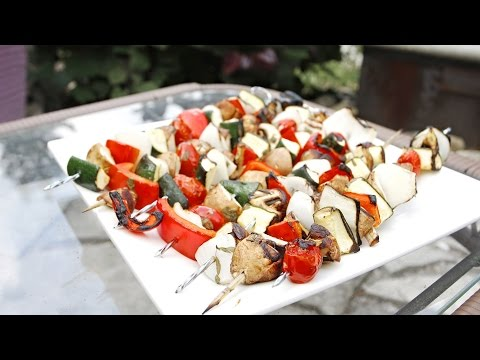 Zesty Summer Vegetable Skewers Recipe