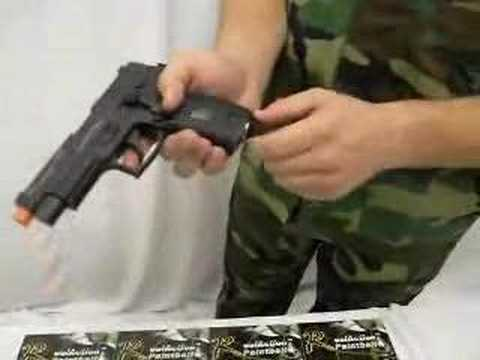 RAP226 Paintball Pistol Demo Video