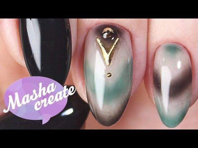 """Модный маникюр омбре: Дизайн ногтей """"градиент на ногтях"""" в модных цветах осени 2017."""