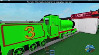 Thomas the Train James and Friends Fall from the rail Roblox Epic Moments