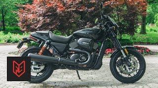 Harley Davidson Street Rod Review at fortnine.ca