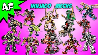 Every Lego Ninjago MECH - Complete Collection!