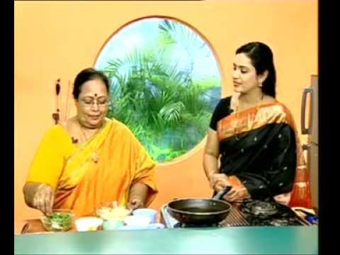 Andhra Recipes - Saggubiyyam Halwa - Ullikadala Pakoda - 03