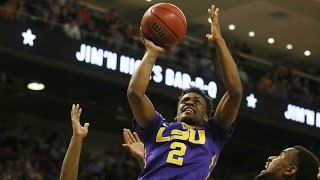 LSU's Antonio Blakeney Hammers A Man-Sized Dunk vs. Auburn | CampusInsiders
