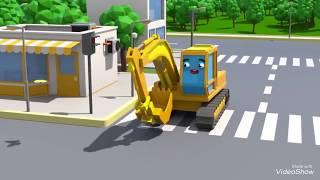 Cảnh sát bắt xe cẩu tinh nghịch | phim hoạt hình 3D