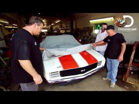 Camaro SS 1969 - Niechciani w Gas Monkey - Discovery Channel