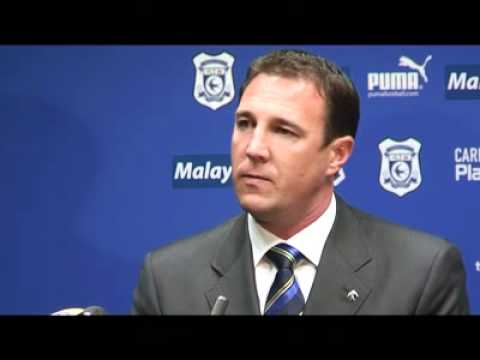 Video: Malky Mackay's Cardiff City press conference