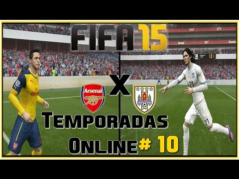 FIFA 15 - Temporadas Online #10 (ARSENAL Vs URUGUAI)