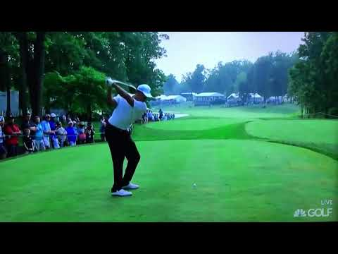 Tiger Woods - Driver Perfect Draw Swing Slo-Mo (July 2015)