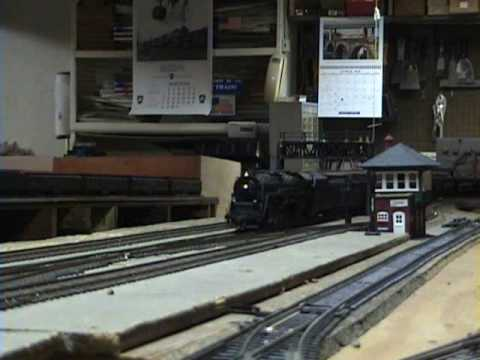 Railfanning My HO Scale Layout During the Steam Era! Video