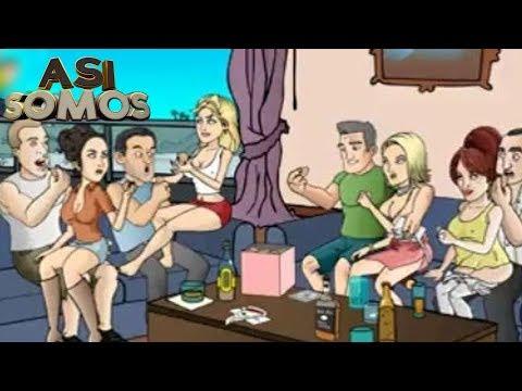 Así Somos: Dibujos Animados Para Adultos video