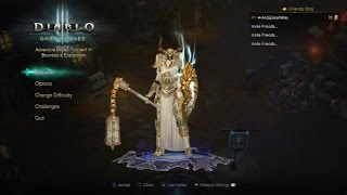 Diablo 3 RoS - Build Holy Shotgun Guerrero Divino T6 2.06