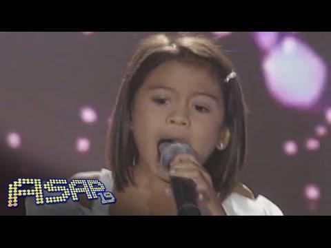 "Lyca Gairanod sings ""Halik"" on ASAP"