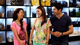 Qiu Qiu, Shu An & Henry Golding Get Opposite Style Makeovers