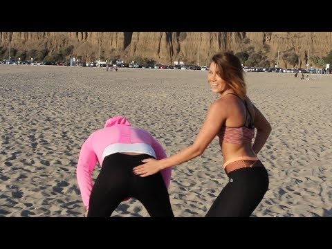 At It Again: Yoga Pants Prank 2!