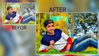 Photoshop Tutorial : Easily color correction In Adobe CC 2017 Adnan ASlam