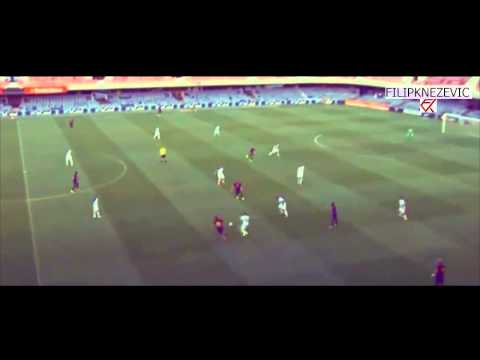 Alen Halilovic vs Llagostera - First Match for Barcelona B - 16.8.2014
