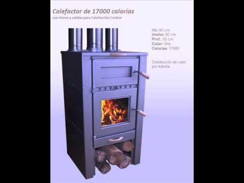 Salamandras alto rendimiento y bajo consumo de le a youtube for Calderas calefaccion lena alto rendimiento