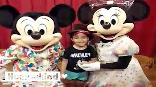For this 3-year-old, Minnie Mouse gives the best hugs | Humankind