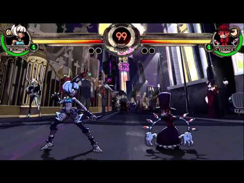 Skullgirls beginning fight dialogue
