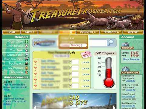 How To Make Money Online From Home With Treasure Trooper - Personal Review
