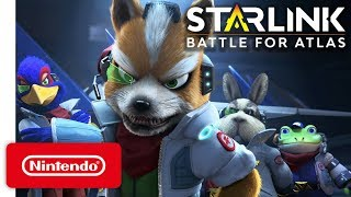 Starlink Battle for Atlas - Star Fox Launch Trailer - Nintendo Switch