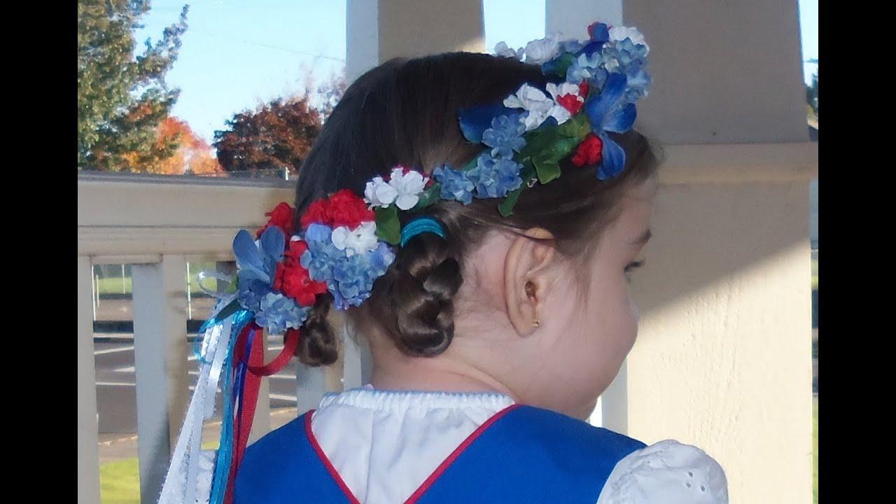 Head Wreath Diy Diy Flowered Hair Wreath