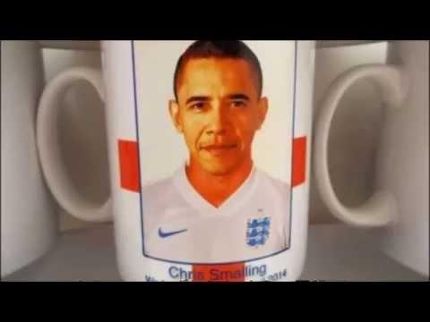 ワールドカップ イングランド代表 スモーリングとオバマを間違える