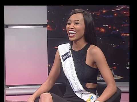Thomas Mlambo, host of sport @ 10 interviews  Miss South Africa 2016