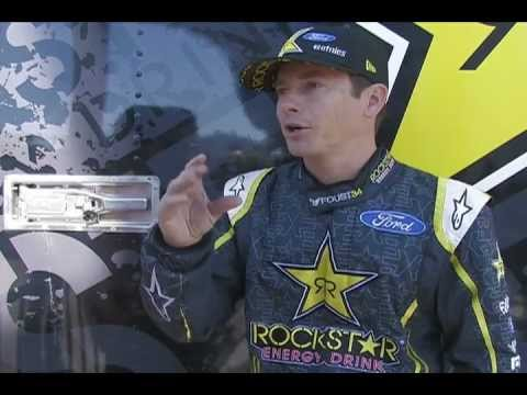 SEMA: Ride with Tanner Foust in the Rockstar Ford Fiesta