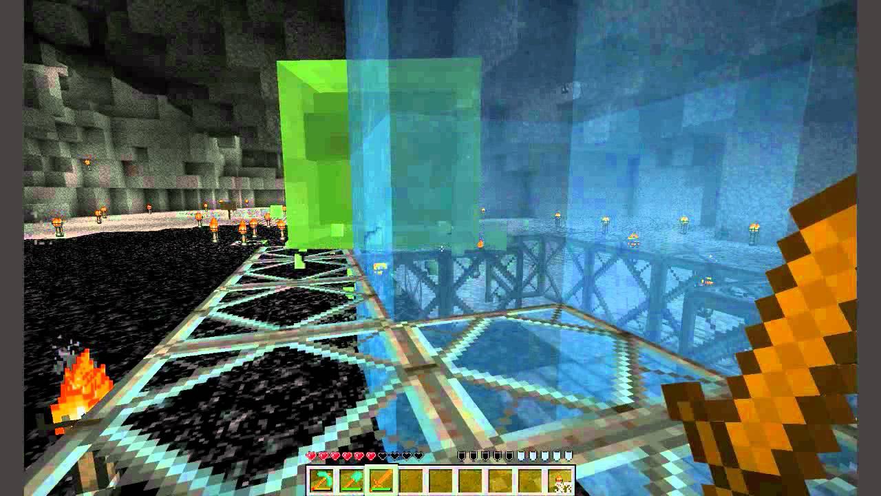 Minecraft Slime Spawn Lab Big Slime Killed Youtube