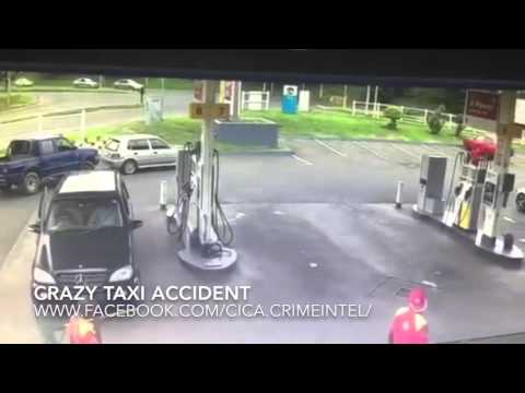 Crazy Taxi Crash in South Africa