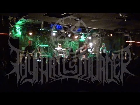 Thy Art Is Murder - FULL SET LIVE HD - The Mosh Lives Tour 2014...