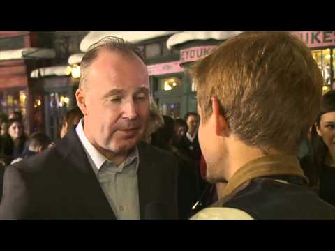 David Yates on the Red Carpet at Warner Bros. Home Entertainment Celebration