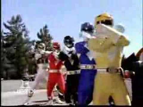 Mighty Morphing Power Rangers w Wild Force Theme v1 w Kim