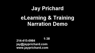Jay Prichard eLearning Training Tutorials Voiceover Narration Demo