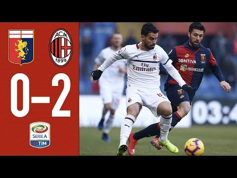 Highlights Genoa 0-2 AC Milan - Matchday 20 Serie A TIM 2018/19
