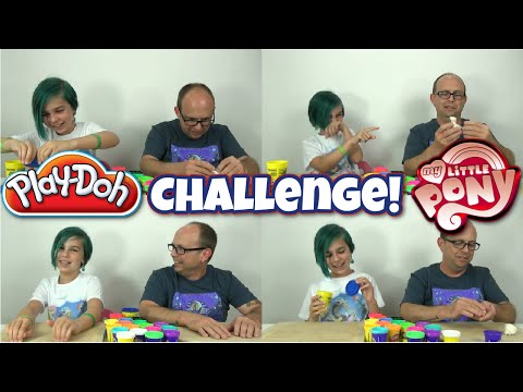 Challenge - My Little Pony Play-doh Build - Kind Of Lol video