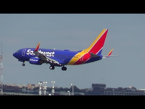 Southwest Airlines Old and New Livery at DCA