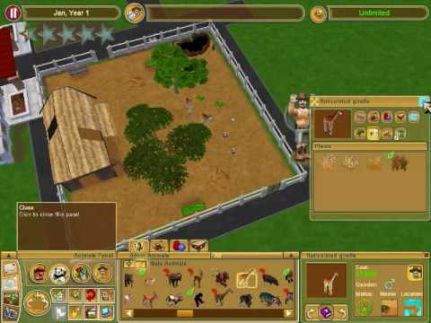 zoo tycoon 2 walkthrough : making a basic zoo
