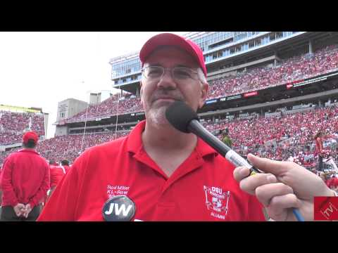 Jonathan Waters Marches Again with Ohio State Alumni Marching Band