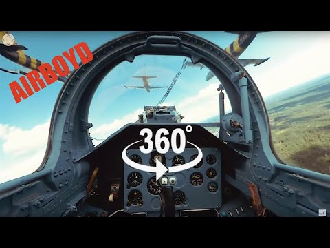 Baltic Bees Jet Team L-39 Formation Flight - 360 Video