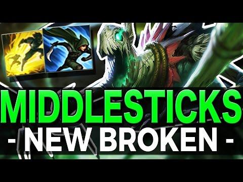 FIDDLESTICKS MID   THE NEW BROKEN? - League of Legends