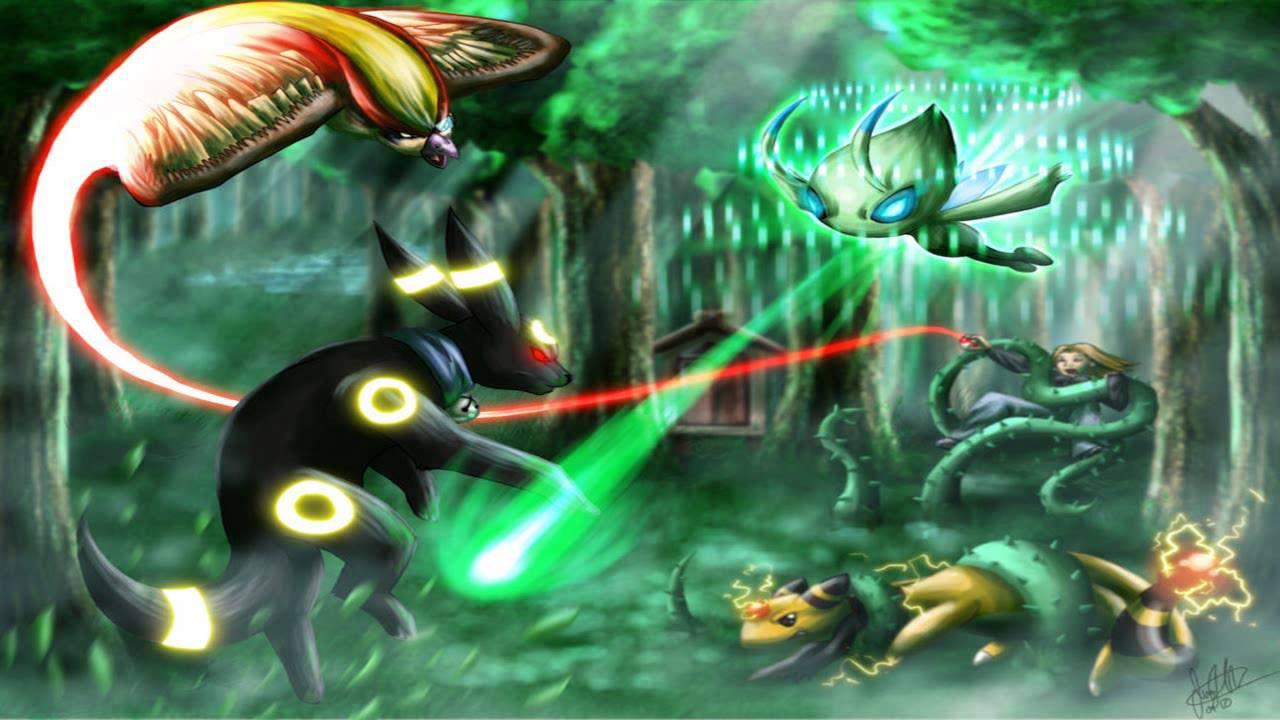 Pokemon Celebi Movie Images Pokemon Images