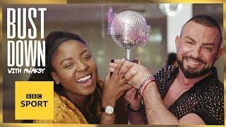 Can someone learn a Strictly dance routine in just TWO hours? | Bust Down with Mwaksy